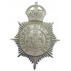 Bradford City Police Helmet Plate - King's Crown