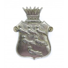 East Sussex Constabulary Chrome Collar Badge
