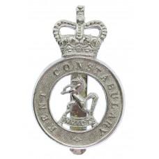 Kent Constabulary Cap Badge - Queen's Crown