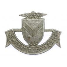 Newport Boro: Police Collar Badge