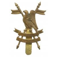 Indian Army Jodhpur Lancers Cast Headdress Badge