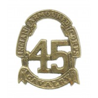 Indian Army 45th Indian Armoured Corps WW2 Headdress Badge