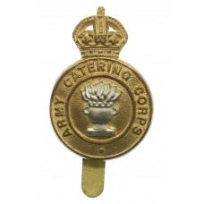 Army Catering Corps Bi-Metal Cap Badge - King's Crown