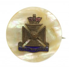 Wiltshire Regiment Mother of Pearl Sweetheart Brooch
