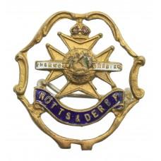Notts & Derby Regiment (Sherwood Foresters) Sweetheart Brooch