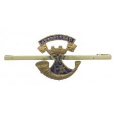 Somerset Light Infantry Enamelled Sweetheart Brooch