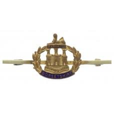 Dorsetshire Regiment Enamelled Sweetheart Brooch