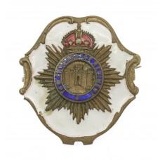 Devonshire Regiment Enamelled Sweetheart Brooch