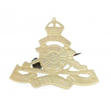 Royal Artillery Mother of Pearl Sweetheart Brooch