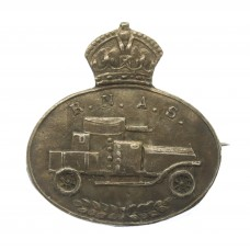 WW1 Royal Naval Air Service (R.N.A.S.) Armoured Car Section Sterling Silver Sweetheart Brooch