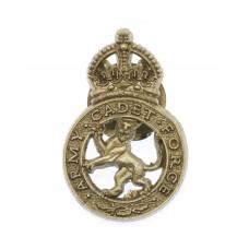 Army Cadet Force (A.C.F.) WW2 Plastic Economy Lapel Badge