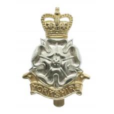 Yorkshire Brigade Anodised (Staybrite) Cap Badge