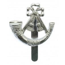 Light Infantry Anodised (Staybrite) Cap Badge