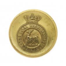 Victorian Royal Warwickshire Regiment Officer's Button (25mm)