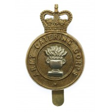 Army Catering Corps Bi-Metal Cap Badge - Queen's Crown