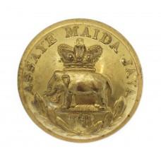 Victorian Pre 1881 78th (Highlanders) Regiment of Foot Officer's Gilt Button (25mm)