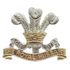 The Royal Hussars Anodised (Staybrite) Cap Badge