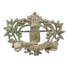 WW1 Battle of Ypres Sweetheart Brooch