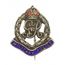 George VI Corps of Military Police Enamelled Sweetheart Brooch