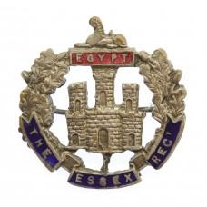 Essex Regiment Enamelled Sweetheart Brooch