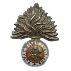 WW1 Royal Welsh Fusiliers Enamelled Sweetheart Brooch