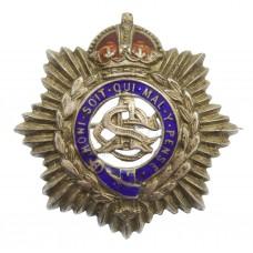 WW1 Army Service Corps (A.S.C.) Sterling Silver & Enamel Sweetheart Brooch