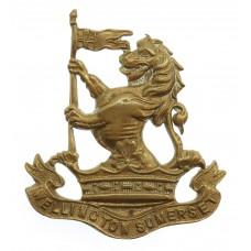 Wellington School Somerset O.T.C. Cap Badge