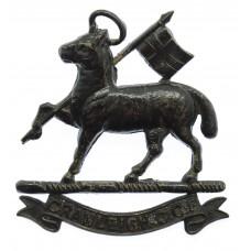Cranleigh School, Surrey C.C.F. Cap Badge