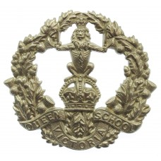 Queen Victoria School, Dunblane Cap Badge - King's Crown