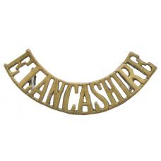 East Lancashire Regiment (E. LANCASHIRE) Shoulder Title
