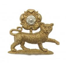 York & Lancaster Regiment Collar Badge