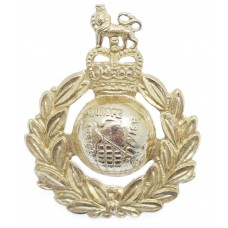 Royal Marines Anodised (Staybrite) Cap Badge