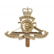 Royal Artillery Anodised (Staybrite) Beret Badge