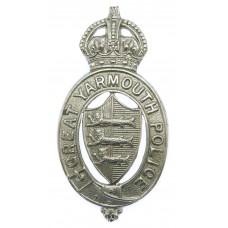 Great Yarmouth Police Cap Badge - King's Crown