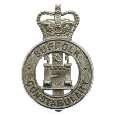 Suffolk Constabulary Large Cap Badge - Queen's Crown