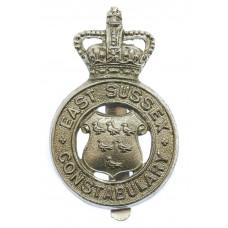 East Sussex Constabulary Cap Badge - Queen's Crown
