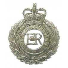 Devon Constabulary Wreath Cap Badge - Queen's Crown