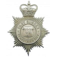 East Sussex Constabulary Helmet Plate - Queen's Crown