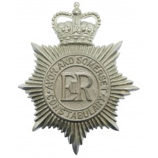 Avon and Somerset Constabulary Helmet Plate - Queen's Crown