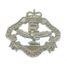 Northern Rhodesia Police Reserve Cap Badge - Queen's Crown