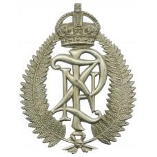 New Zealand Police Helmet Plate - King's Crown