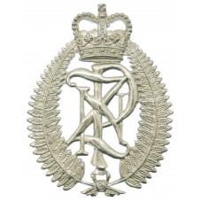 New Zealand Police Helmet Plate - Queen's Crown