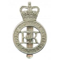 Humberside Special Constabulary Cap Badge - Queen's Crown