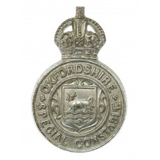 Oxfordshire Special Constabulary Cap Badge - King's Crown