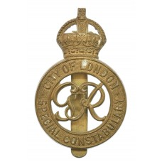 George VI City of London Special Constabulary Cap Badge