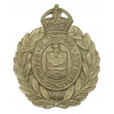 Blackpool Special Constabulary White Metal Wreath Cap Badge - Kin