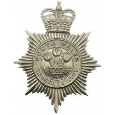 South Wales Constabulary Helmet Plate - Queen's Crown