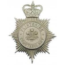 Flintshire Constabulary Helmet Plate - Queen's Crown