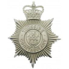 Teesside Constabulary Helmet Plate - Queen's Crown