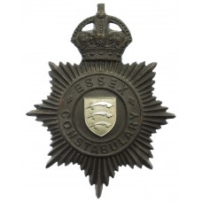 Essex Constabulary Night Helmet Plate - King's Crown